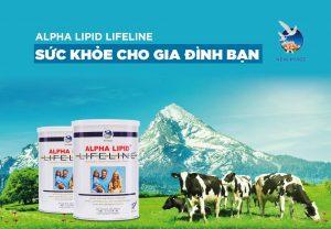 Đặt hàng Sữa non Alpha Lipid Lifeline chính hãng