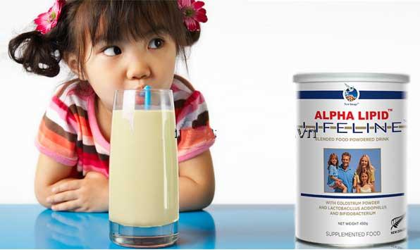 Tác dụng phụ của Sữa non Alpha Lipid