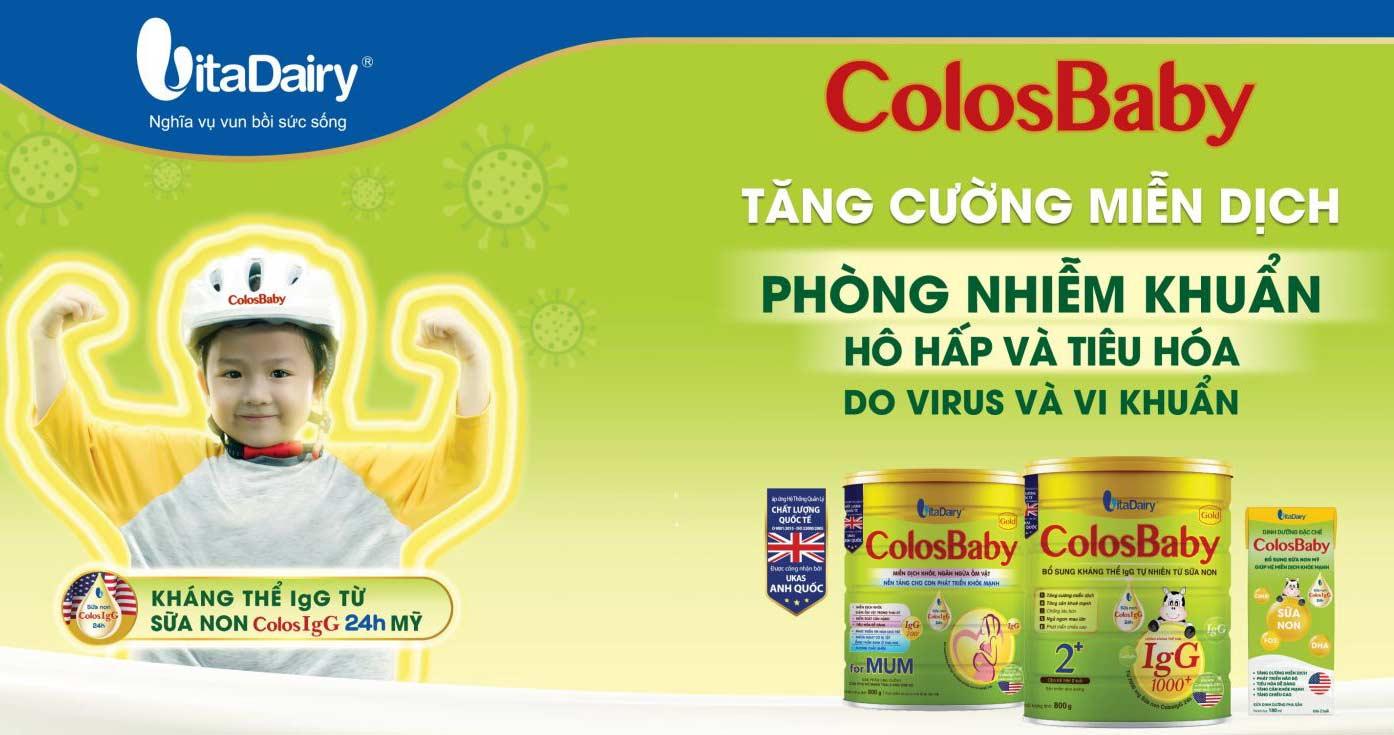 Công dụng của Sữa non Colosbaby cho trẻ em