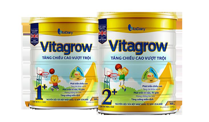 Sữa non Colosbaby Vitagrow 1+ và 2+