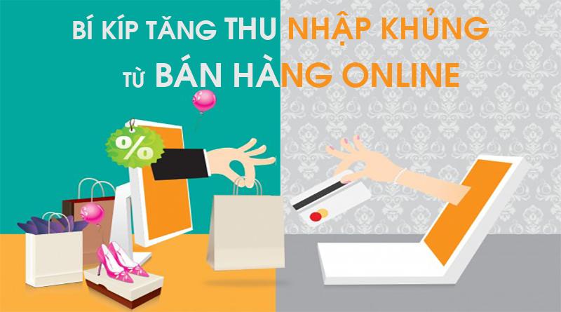 Thu nhập từ bán hàng online