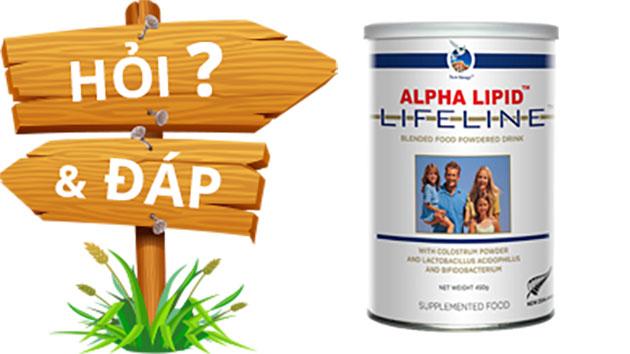 Có nên mua Sữa non Alpha Lipid cho bà bầu