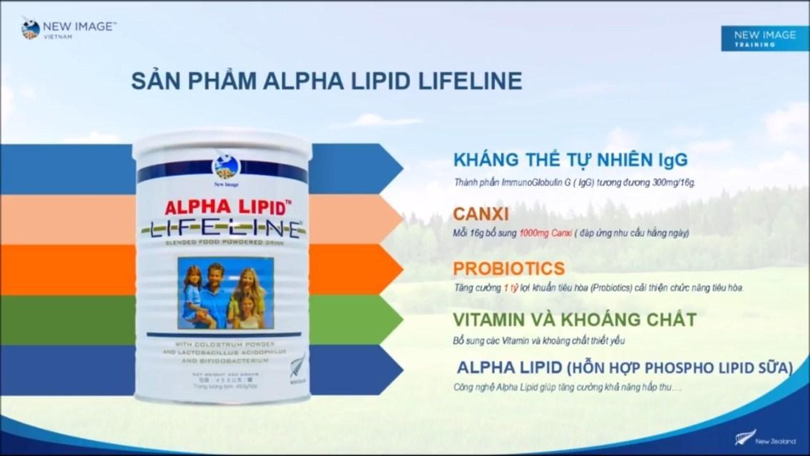 Sữa non Alpha Lipid có tác dụng gì