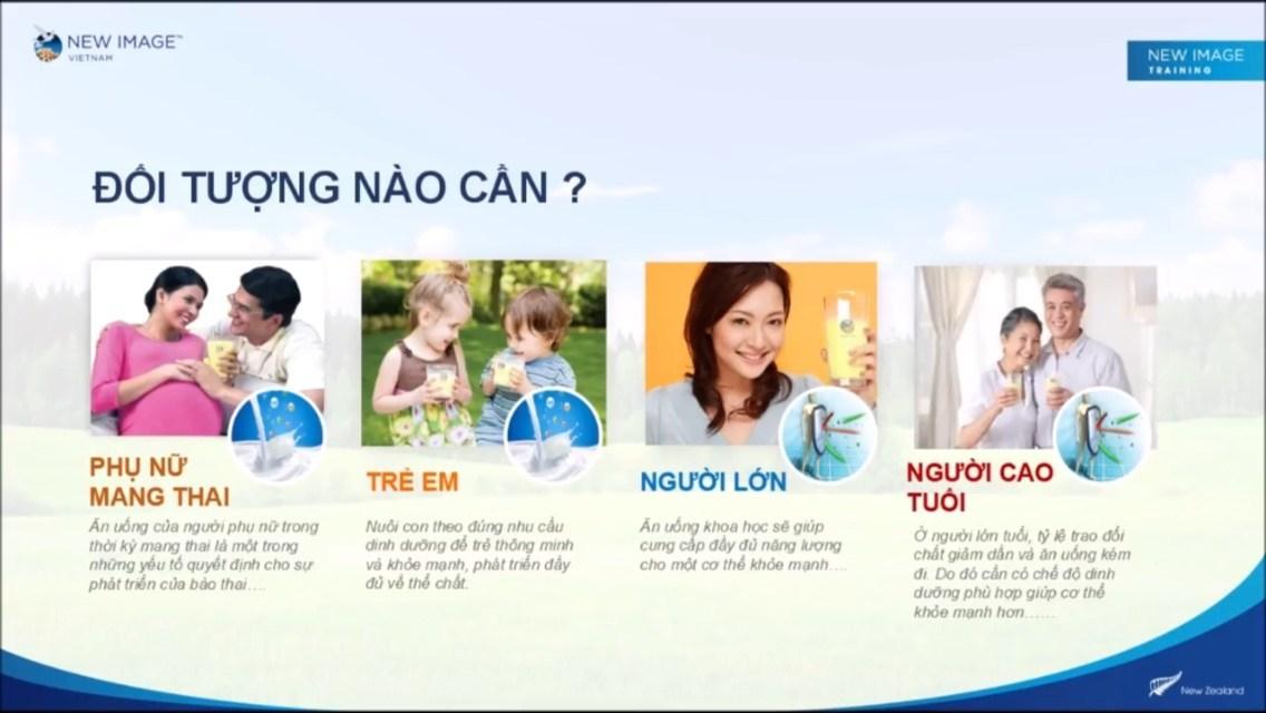 Đối tượng sử dụng Sữa non Alpha Lipid