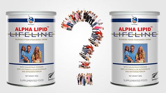 Sữa non Alpha Lipid Lifeline nhập khẩu New Zealand