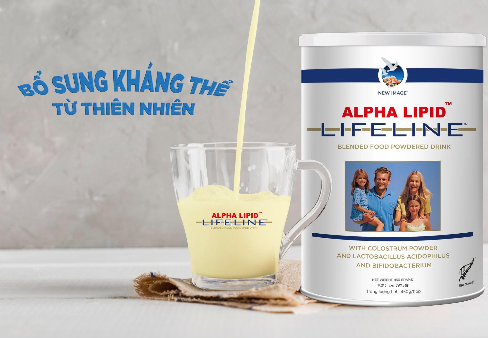 Sữa non Alpha Lipid giá bao nhiêu tại Việt Nam