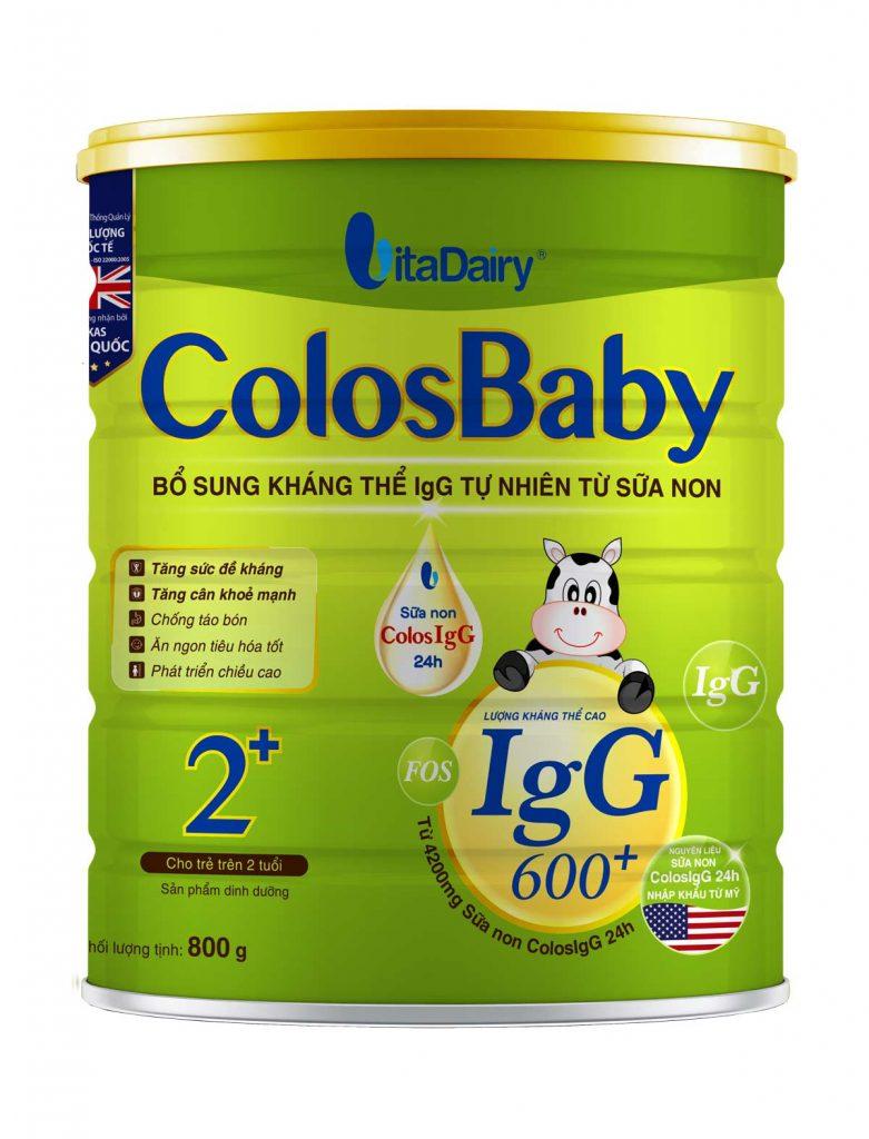 Sữa non Colosbaby Gold 2+ cho bé từ 2 tuổi