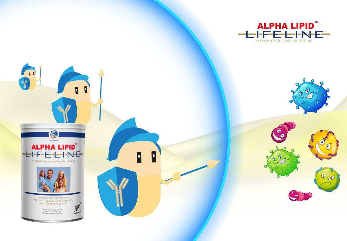 sữa tăng sức đề kháng Alpha Lipid Lifeline của New Zealand
