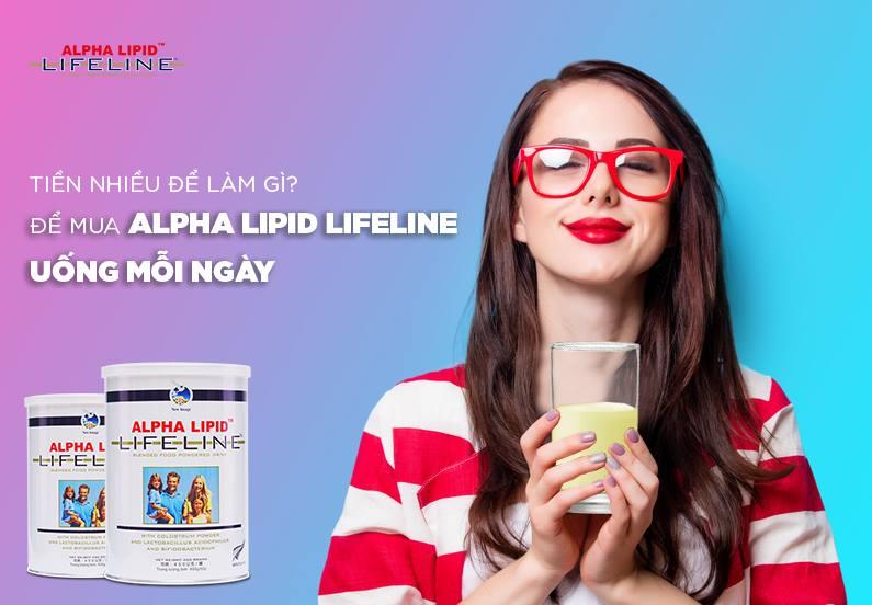 Có nên ngừng sử dụng thuốc tây khi uống Sữa non Alpha Lipid