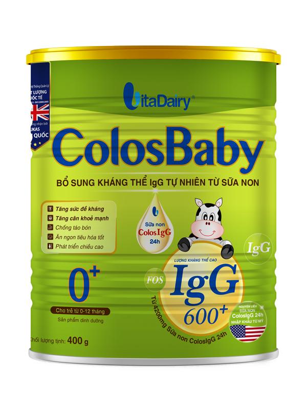 hình ảnh Sữa non Colosbaby 0 cho bé loại 400g