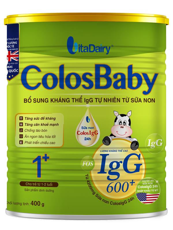 hình ảnh Sữa non Colosbaby 1+ loại 400g