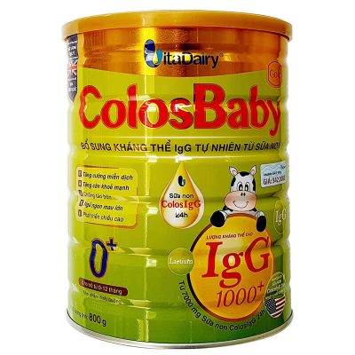 Sữa non Colosbaby gole 0 cho bé 0-12 tháng