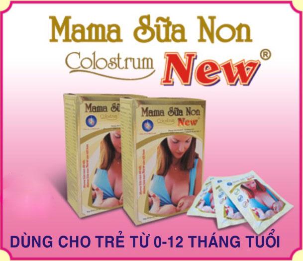 các loại sữa non trên thị trường tại Việt nam