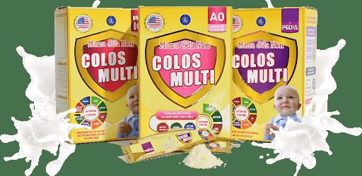 Sữa non Mama Colostrum dành cho trẻ em sản xuất tại Việt Nam