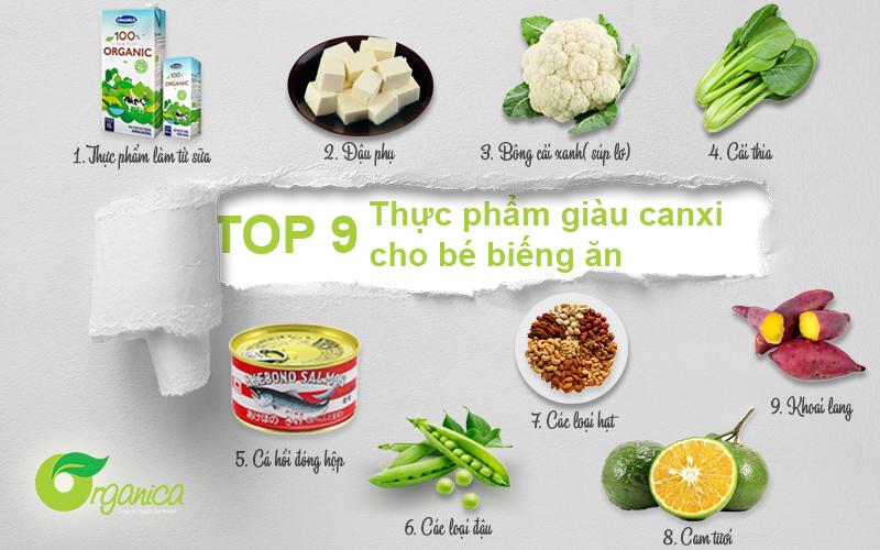 9 loại thực phẩm giàu canxi có giá rẻ