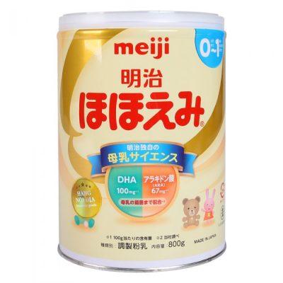 Sữa Meiji số 0 dạng bột cho bé từ 0 đến 1 tuổi
