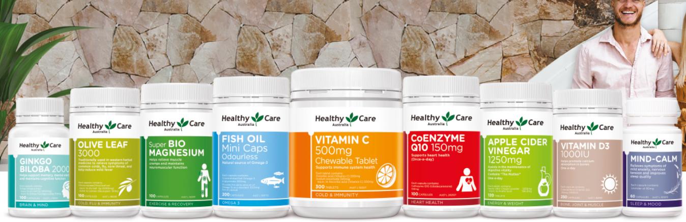 Các sản phẩm của Healthy Care