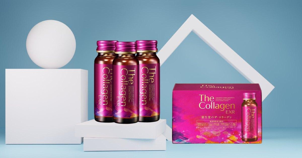 Collagen Shiseido nước