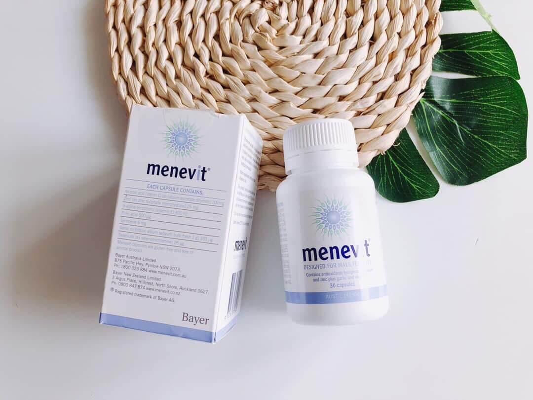 Nên cẩn thận mua phải Menevit giả vì trên thị trường có cả mẫu mới lẫn cũ.