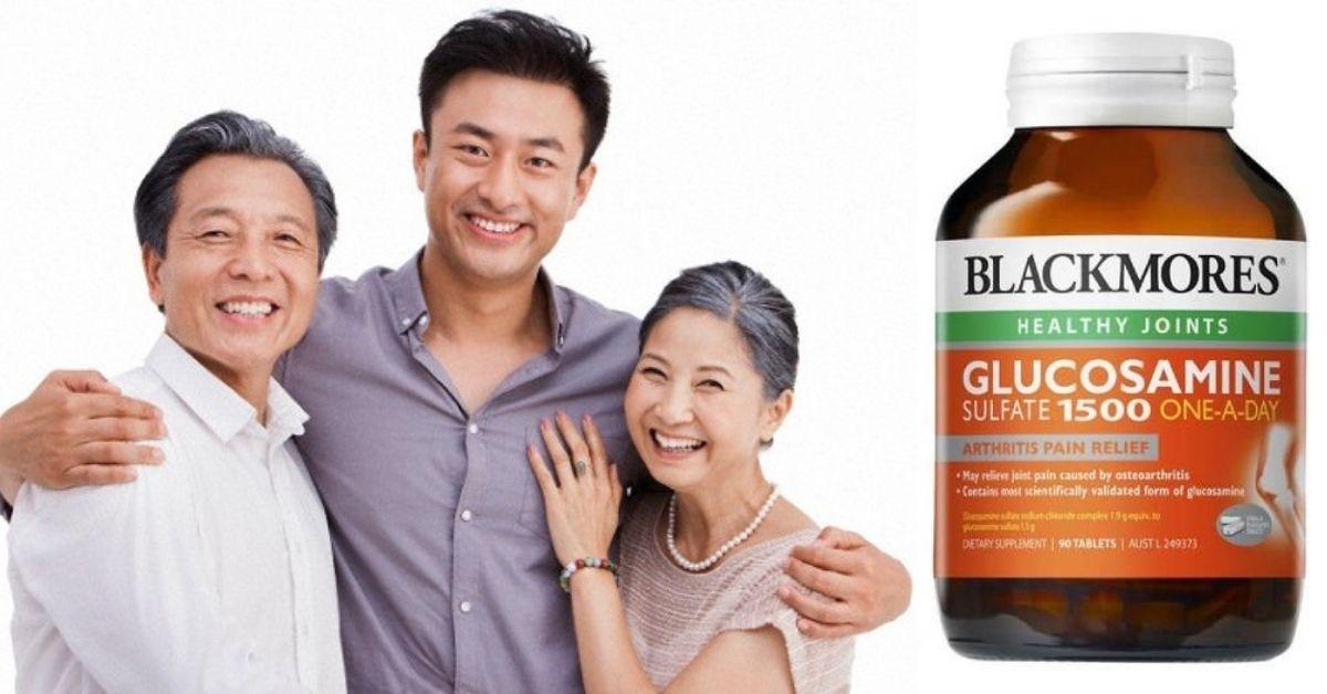 Sản phẩm glucosamine Úc 180 viên phù hợp với nhiều đối tượng.