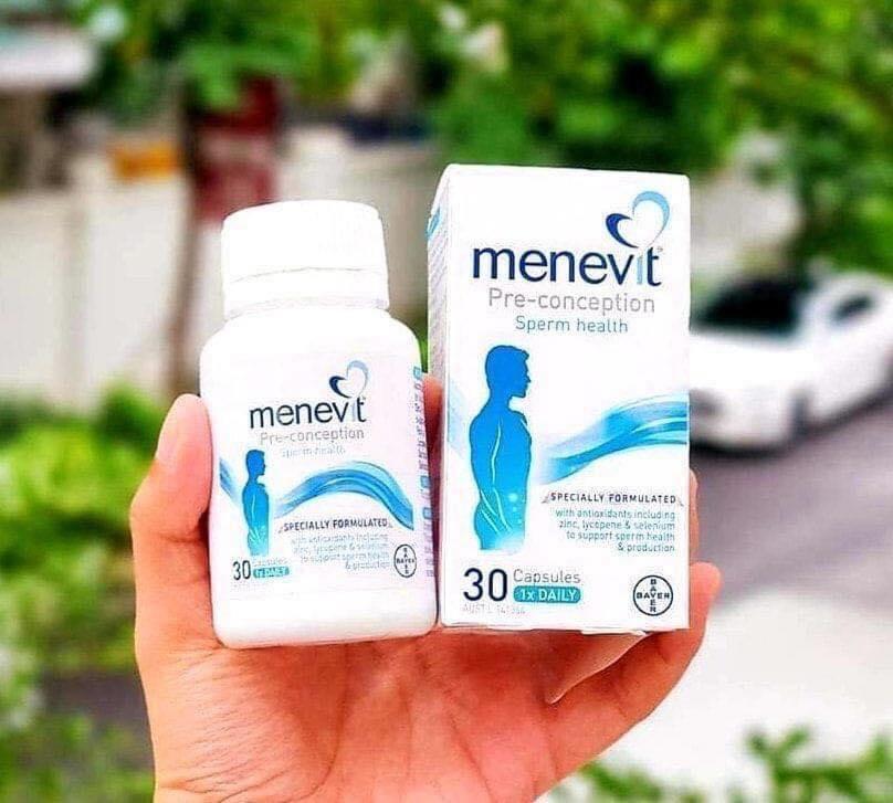Sản phẩm Menevit mẫu mới nhất.